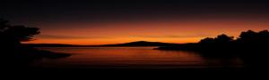 Sunset At Lakeside