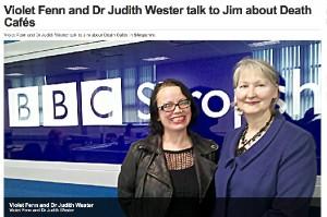 Violet Fenn and Dr Judith Wester
