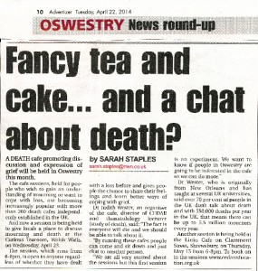 Oswestry News Article